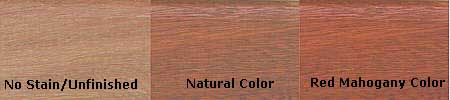 Messmers Hardwood Colors