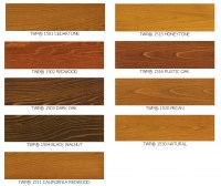 Wood Stain Samples